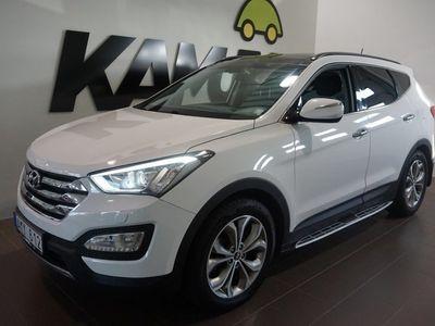 begagnad Hyundai Santa Fe 2.2 CRDi 4WD 200hk Öppningsbart Panorama GPS SoV