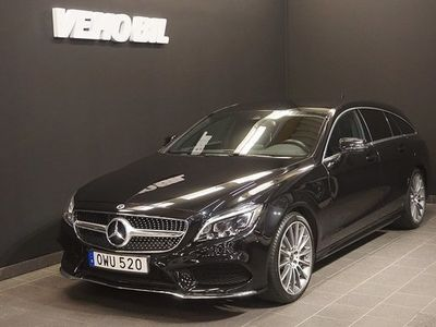 begagnad Mercedes 350 CLS Benzd 4-Matic Shooting Brake AMG Värmare Aut Nav ILS 2017, Sportkupé 425 000 kr