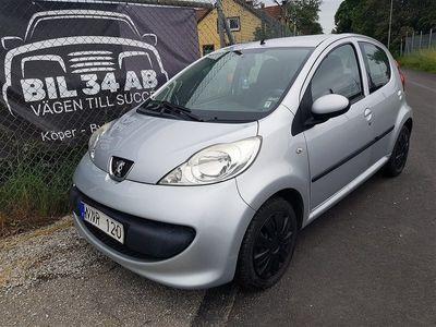 begagnad Peugeot 107 1,0 1,0 Besiktat 5 dörrar 68 HK