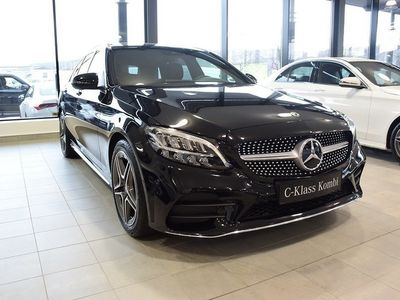 begagnad Mercedes C200 D KOMBI VÄRMARE AMG DEMOB
