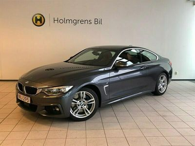 begagnad BMW 428 i Coupe M Sport Automat Navigation Head-Up Harman Kardon Taklucka Skinn Backkamera Driving Assistant Elstolar