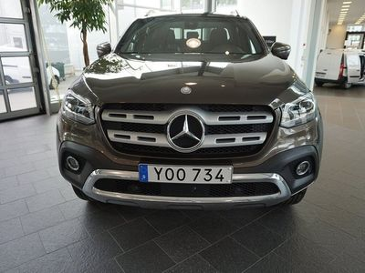 begagnad Mercedes X250 d 4M klass Progressiv Edition