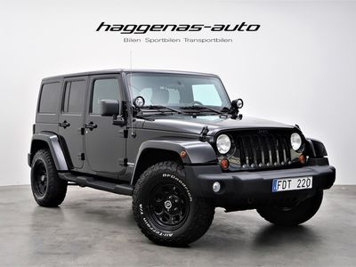 brugt Jeep Wrangler Unlimited Sahara Black Editon -12