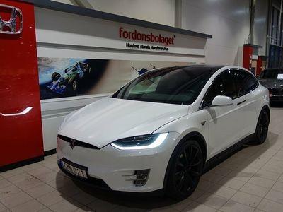 begagnad Tesla Model X P90D AWD 7-Sits Leasbar