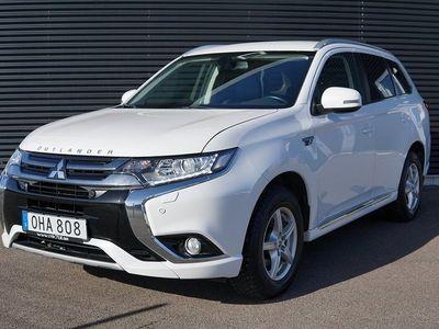 begagnad Mitsubishi Outlander P-HEV 2.0 Hybrid 4WD CVT 203hk