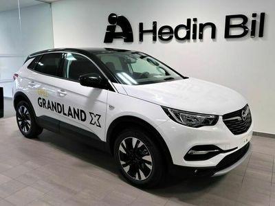 begagnad Opel Grandland X DESIGNLINE+ 1,2T 130Hk *Demo