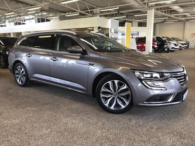 begagnad Renault Talisman SPORT TOURER Energy dCi 160 Comfort Edt EDC Garanti 24 månader (Utrustad med bl.a. Massagefunktion framsäten, Backkamera, Adaptiv farthållare,Navigation)