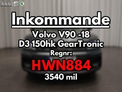 begagnad Volvo V90 D3 150hk GearTronic Kinetic