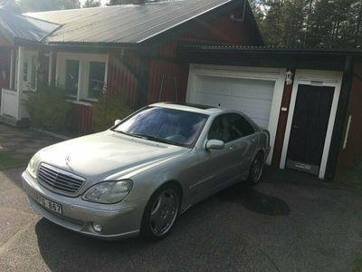 begagnad Mercedes S320 Svensksåld