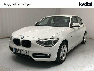 begagnad BMW 120 1-serien d 5dr, F20 Sport line