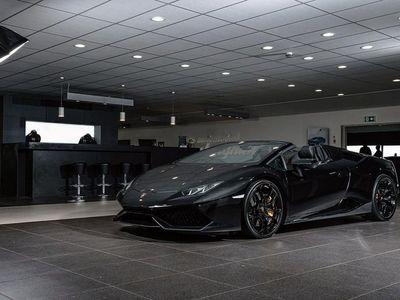 begagnad Lamborghini Huracán HuracánSpyder / Sv-såld
