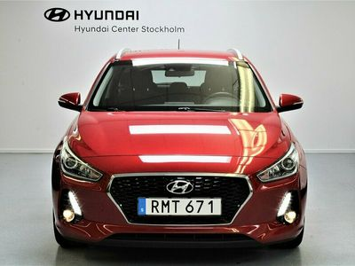 begagnad Hyundai i30 Wagon 1.0 T-GDI blue Euro6 / Rattvärme