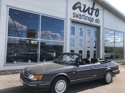 begagnad Saab 900 Cabriolet 2.0 Turbo Automat 160hk