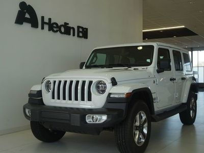 begagnad Jeep Wrangler Unlimited SAHARA 2.0T 272HK GME 8ATX