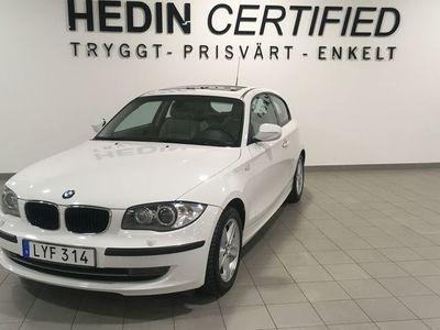 begagnad BMW 118 Aut Taklucka Skinnklädsel 143hk Garanti