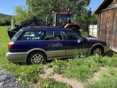 begagnad Subaru Outback 2.5 reservdelsbil eller laga?