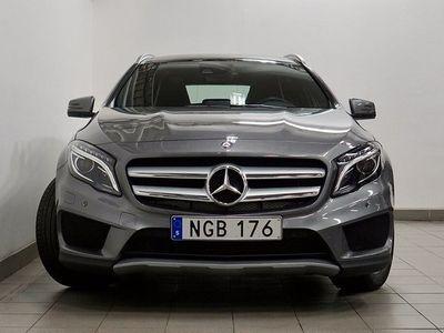 begagnad Mercedes GLA220 d 4MATIC AMG Navi Panorama V-hjul