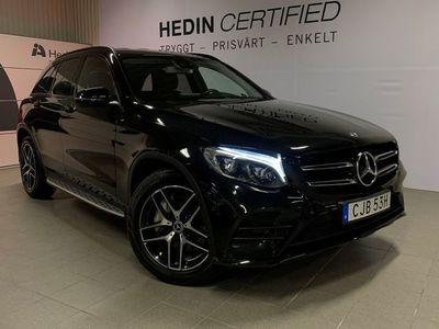 begagnad Mercedes GLC220 - BenzD 4Matic Amg / Värmare / Drag / Nightpackage