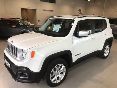 begagnad Jeep Renegade 2.0 CRD 4WD Automat Limited 140hk