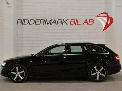 begagnad Audi A4 Avant 2.0TDI quattro S-Line Fullserv Drag M-värm Eu6 190hk