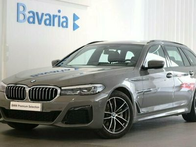 begagnad BMW 520 d xDrive Touring M Sport Drag Winter HiFi 2021, Kombi Pris 464 700 kr