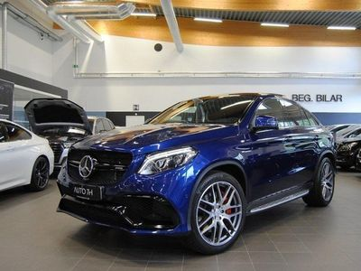 begagnad Mercedes GLE63 AMG AMGS AMG Coupé / Svensksåld / Se Spec