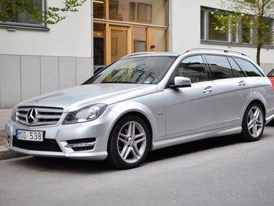 gebraucht Mercedes C180 AMG, aut, drag, m-värm, 6250mil -12