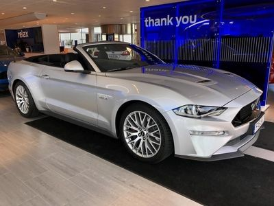 begagnad Ford Mustang GT 5.0 V8 (451hp) Convertible -Aut