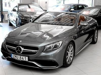 usata Mercedes S63 AMG S-KlassAMG (585hk) Cabriolet / 4-matic