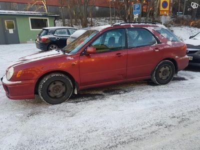 gebraucht Subaru Impreza Kombi 2.0l 125hk -02