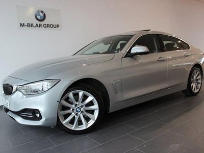 begagnad BMW 430 i xDrive GC Luxury Innovation Nav Nypris 561.800:-