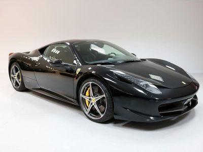 begagnad Ferrari 458 Italia 570hk Svensksåld