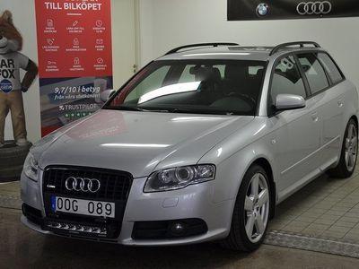 begagnad Audi A4 2.0 TDI quattro S-Line 170hk