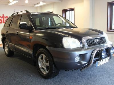begagnad Hyundai Santa Fe 2.4 4WD 145hk -03