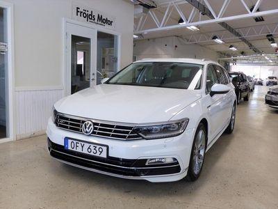 begagnad VW Passat SC 2.0 TDI 190hk Euro 6 4M DSG6 Executive Business Drag Värmare