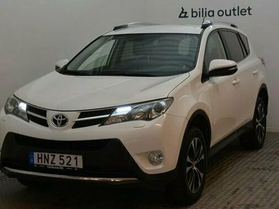 begagnad Toyota RAV4 2.0 4WD Multidrive S B-kamera 2015, SUV Pris 169 900 kr