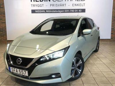 begagnad Nissan Leaf 40 KWH N-Connecta //Vinterhjul Medföljes//