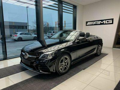 begagnad Mercedes C200 C BenzCABRIOLET DEMOBIL AMG LINE BURMESTER 2021, Cab Pris 459 900 kr