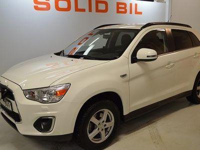 begagnad Mitsubishi ASX 2.2 Di-D 4WD AUTOMAT VÄRMARE 2015, SUV Pris 168 800 kr
