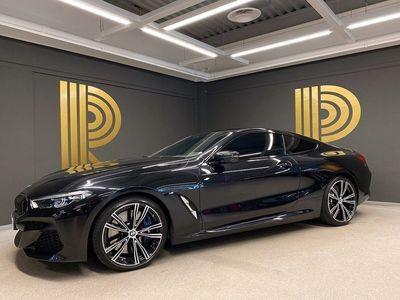begagnad BMW M850 i xDrive Coupé (530hk) Bowers / Sv-såld
