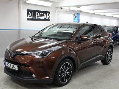 begagnad Toyota C-HR 1,8 HSD EXECUTIVE JBL SKINN EU6