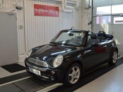 begagnad Mini One Cabriolet 1,6 / CAB / 10900 MIL