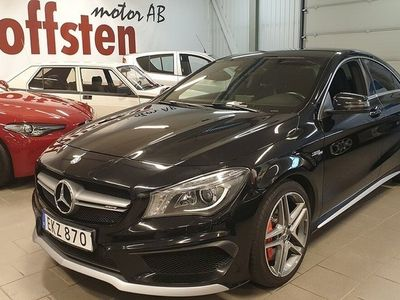 begagnad Mercedes CLA45 AMG 45 AMG 4MATIC AMG Speedshift DCT Euro 6 360hk