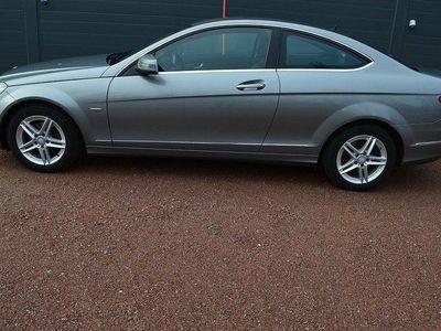 begagnad Mercedes C220 CDI Coupé BlueEFFICIENCY