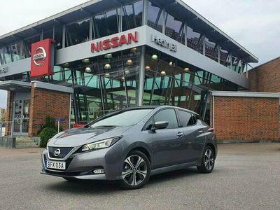 begagnad Nissan Leaf N-CONNECTA MY20 40 KWH LED Demo utförsäljning 2021
