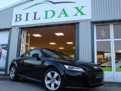 begagnad Audi TT COUPÉ 1.8 TFSI 180HK COCKPIT 1800MIL