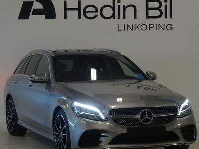 begagnad Mercedes C220 D AMG Panorama Backkamera Navigation