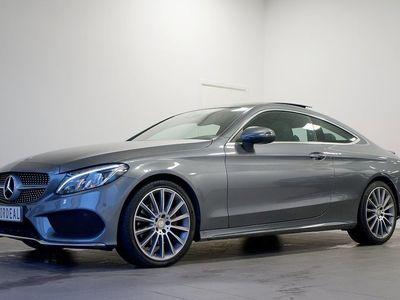 begagnad Mercedes C220 d Coupé AMG / Panorama - 3591kr/månad