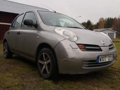begagnad Nissan Micra Ny besiktad och skattad -05