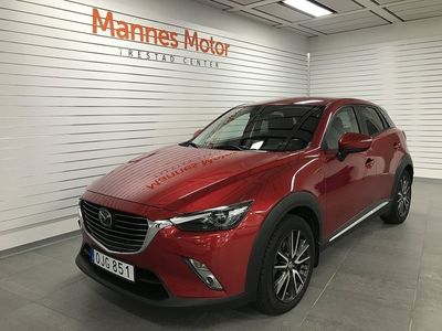 begagnad Mazda CX-3 2.0 Optimum AWD Automat Euro 6 150hk